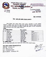 name short list of candidate for social mobilizer belong to NCCSP